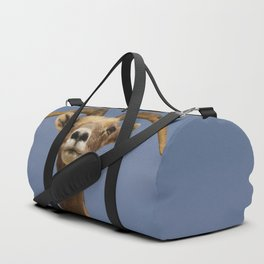 Desert_Bighorn_Sheep Portrait II - Valley_of_Fire State_Park Duffle Bag