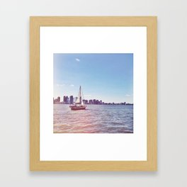 NYC Battery Park City Framed Art Print