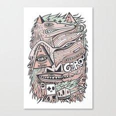 Hirsute Canvas Print