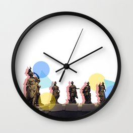 Statue Squad Wall Clock
