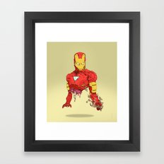 Halfman Framed Art Print