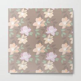 Blissful Blooms Metal Print