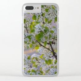 Blossoms on Third Avenue Clear iPhone Case