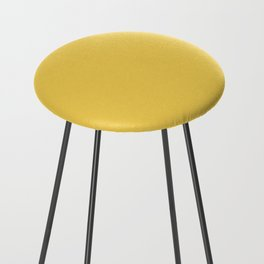 Primrose Yellow | Pantone Fashion Color Spring : Summer 2017 | Solid Color Counter Stool