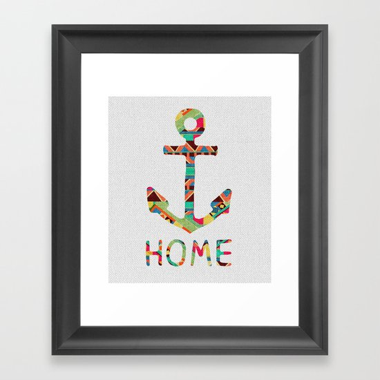 you make me home Framed Art Print
