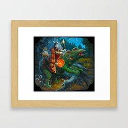 The Rabbit Emissary  Framed Art Print