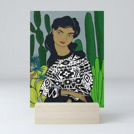 She will tell the story Mini Art Print