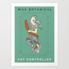 Fat Controller Art Print