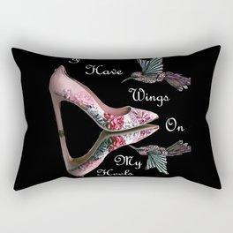 Wings On My Heels Rectangular Pillow