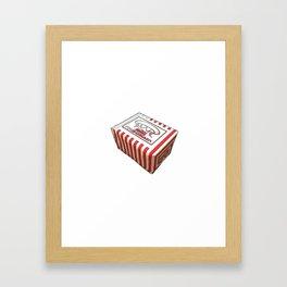 Snack Box Framed Art Print