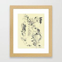 Caught In-Between Framed Art Print