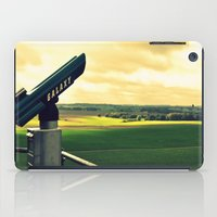 battlefield iPad Cases featuring Overlooking the battlefield by Danielle W