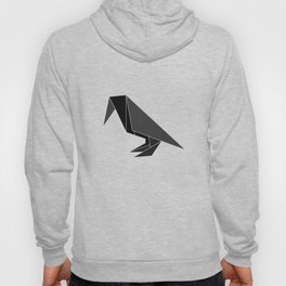 """Collection """"Origami"""" impression """"Raven Paper"""" Hoody"""