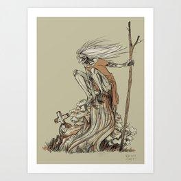 Babayaga Art Print