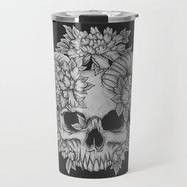 Japanese Skull Travel Mug