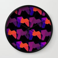 lions Wall Clocks featuring LIONS by lucborell