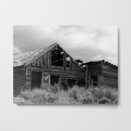 Silver City, Utah Series #1 Metal Print