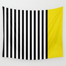 Liquorice allsorts, yellow Wall Tapestry