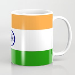 Flag of India-indian,mumbai,delhi,hindi,indus,buddhism,hinduism,buddha,gandhi Coffee Mug