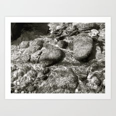 Places in Black & White: Whiskeytown 8 Art Print