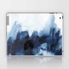 Indigo watercolor 2 Laptop & iPad Skin