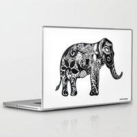ganesh Laptop & iPad Skins featuring Ganesh by doctusdesign