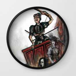 Inadmissible: Lizzie Borden Wall Clock
