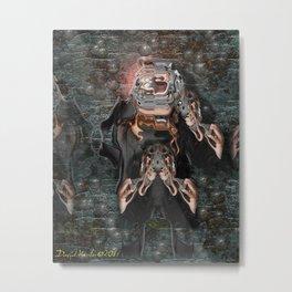 sidekick Metal Print