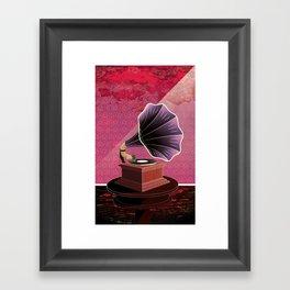 Phonograph  Framed Art Print
