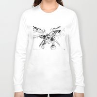 gundam Long Sleeve T-shirts featuring Gundam Wing  by HobbSpot