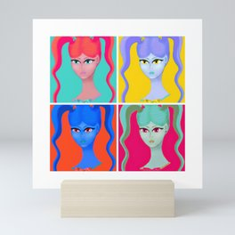 Jody Collage II Mini Art Print