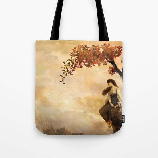 The Fall of Old Ways Tote Bag