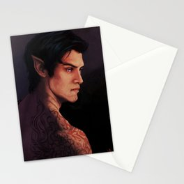 Rhysand Rhys Court of Thorns and Roses portrait Stationery Cards
