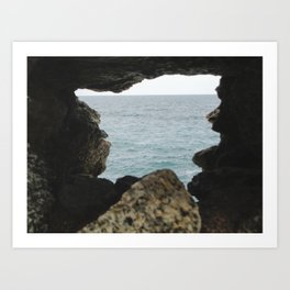 PHOTOGRAPHY  - A glimpse of infinity Art Print
