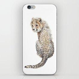 Watercolor Cheetah Painting iPhone Skin