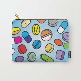 Drugs n Pills Carry-All Pouch