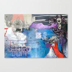 Information Exchange Canvas Print
