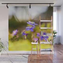 Wildflowers Spring Forest #decor #society6 #buyart Wall Mural