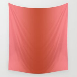 Pastel Red to Red Vertical Bilinear Gradient Wall Tapestry