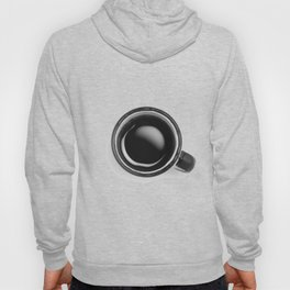 Cup of Coffee (Black and White) Hoody