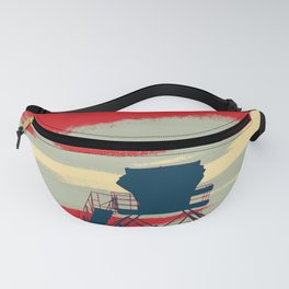 Tower Graphic Fanny Pack