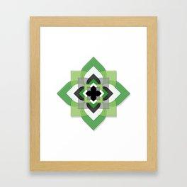 Aro Flower Framed Art Print