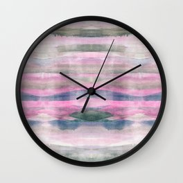 Modern fluid colors background Wall Clock