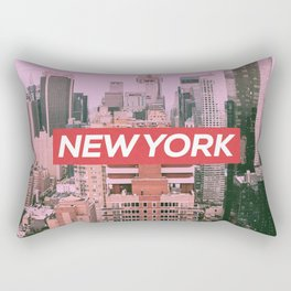 New York City (Vintage Collection) Rectangular Pillow