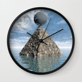 Alien City Wall Clock