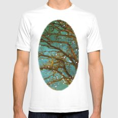 Magical White MEDIUM Mens Fitted Tee