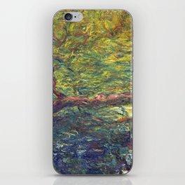 1918-Claude Monet-Weeping Willow-99 x 120 iPhone Skin