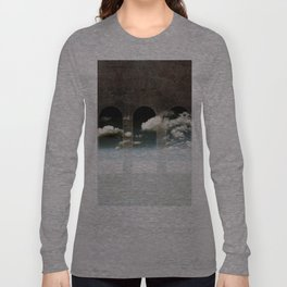 Window To Heaven Textured Long Sleeve T-shirt