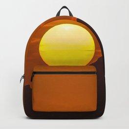 """""""Desert Sunset 1"""" by Murray Bolesta Backpack"""