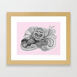 Be'er rose Framed Art Print